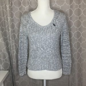 Abercrombie kids grey sweater